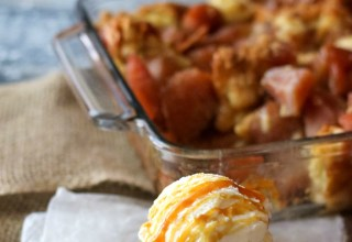 The Best Apple Pie Bread Pudding
