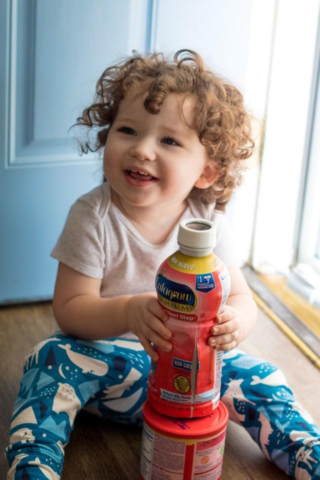 Sam and Enfagrow Toddler (1 of 1)