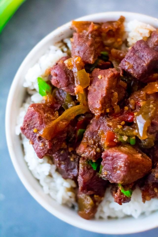 Slow Cooker Teriyaki Beef-4