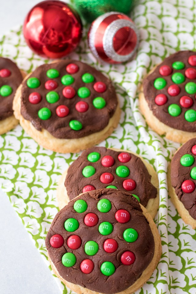 Fudge Topped Sugar Cookies-9
