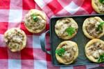 Sausage Gravy Biscuit Cups-7