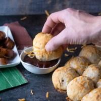 BBQ Meatball Bomb Bread