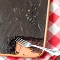 Mocha Sheet Cake