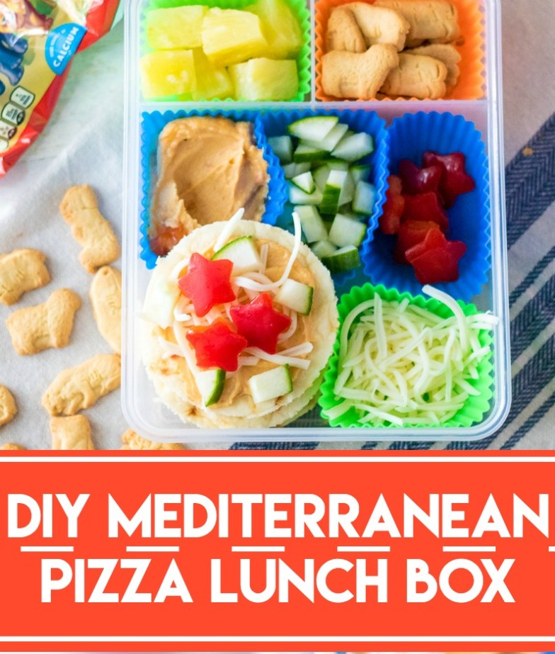 Diy Mediterranean Pizza Lunch Box Life With The Crust Cut Off