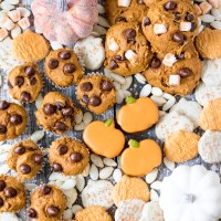 3 Ingredient Chocolate Chip Pumpkin Cookies