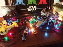 This year's special decorations come from a galaxy far, far away in anticipation for a certain movie that comes out in a few weeks.