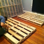Diy Pallet Bed Life With The Joneses