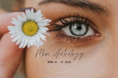 来週の運勢を占う「来週の月もよう」2021年4月11日〜17日。