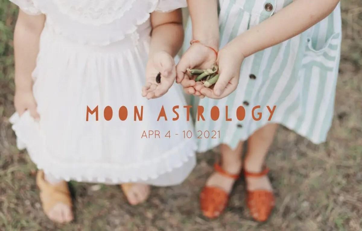 月もよう 山羊座下弦の月4月4