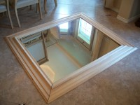 How to make a builder grade mirror look good! | Life with ...