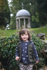 Luke at the Lily Pond