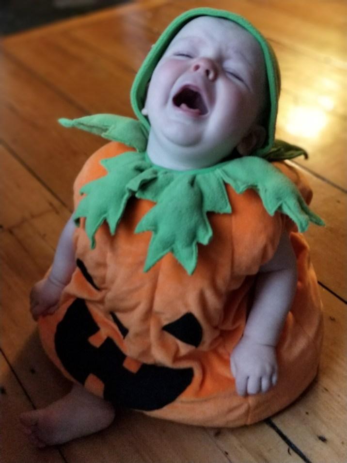 Terrorised Pumpkin