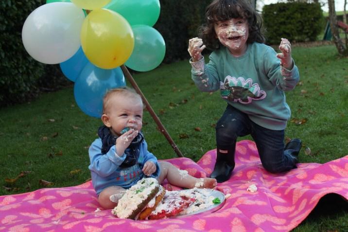 Luke and Olly Cake Smash