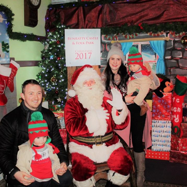 Santa at Bunratty