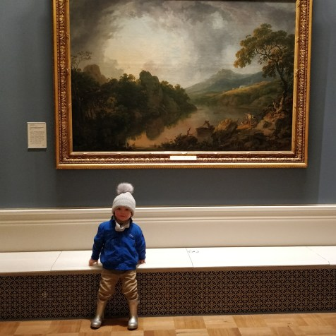 The National Gallery: Rainy Day in Dublin