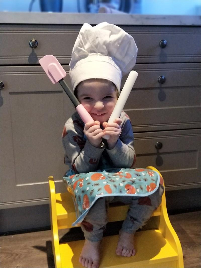 Baking as a family