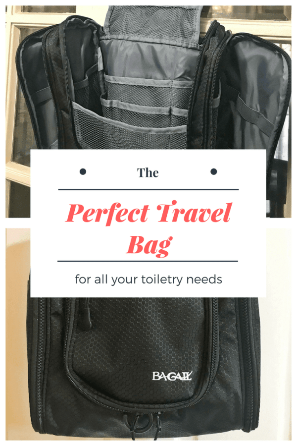 The Perfect Travel Bag for all Your Toiletry Needs