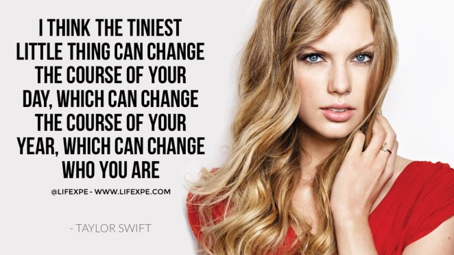 taylor swift quote small change successful why we fall motivational video