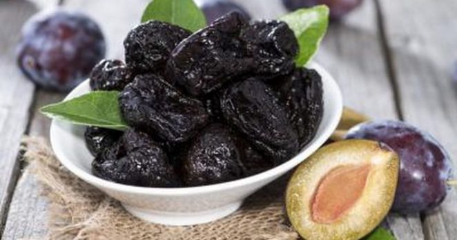 Prunes and raisins are good remedies for constipation
