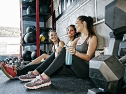 LXP Lifexpe Life Experience spend hours at gym health fitness women friends gym workout sweat main
