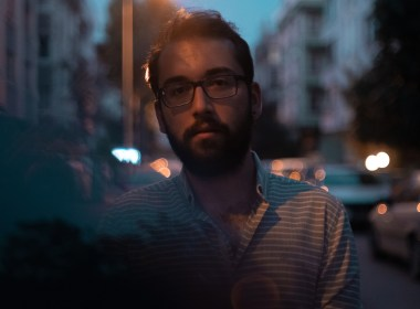 good human young man with glasses looking sad short haired gentleman