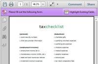 Tax Preparation Checklist | Autos Post