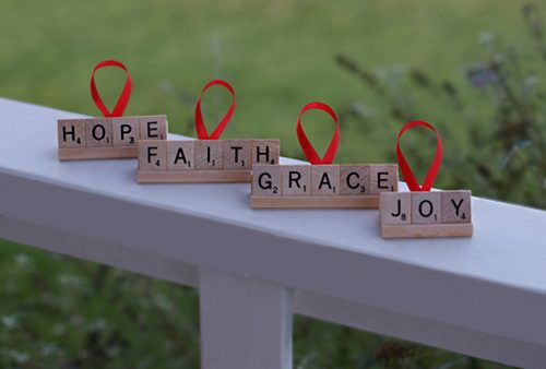 101 Days of Christmas: Personalized Scrabble Ornaments