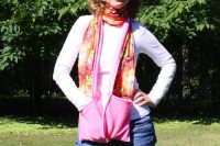 Keep Cozy with a DIY Fleece Scarf with Pockets | Life Your Way