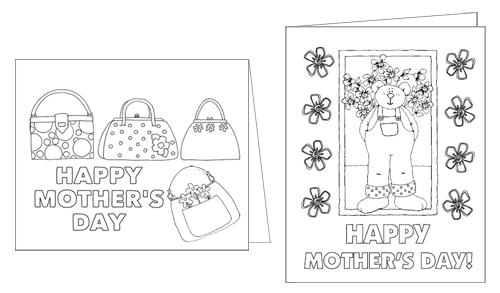 Printable Color-Me Mother's Day Cards > Life Your Way