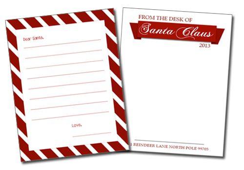 101 Days Of Christmas Printable Santa Letter Templates Life Your Way