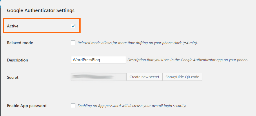 How To Secure WordPress Blog Using Google Authenticator