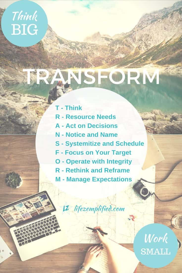 Successful goal achievers think big first and often while knowing when to focus and work small, to create substantial, enduring transformation. Consider these 9 factors in your goal setting and work towards successful and lasting achievement. #GoalSetting #Transformation