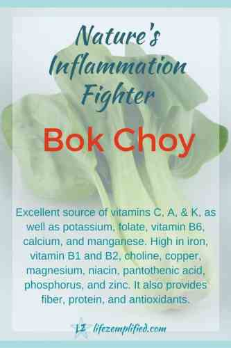 Bock Choy Nature's Inflammation Fighter