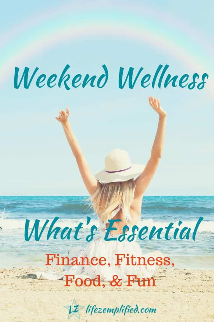 Overall feelings of wellbeing, derive from five elements deemed essential for wellness, including finances, fitness, food, and fun.