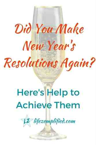 Making Popular New Year's Resolutions