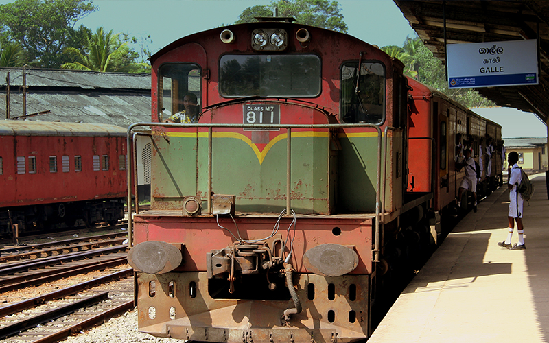 Sri lankan southern railway memories