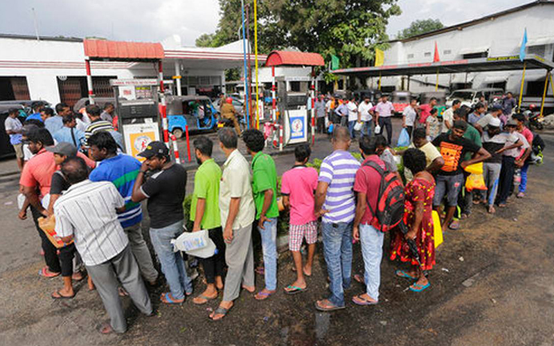 how people reacted to petrol crisis