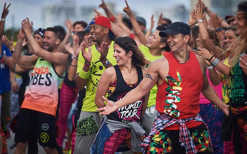 zumba dancing in srilanka