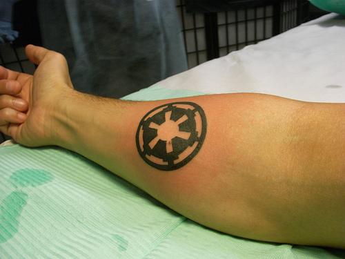Galactic Empire Tattoo