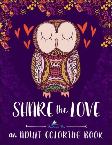 Share the Love Adult Coloring Book