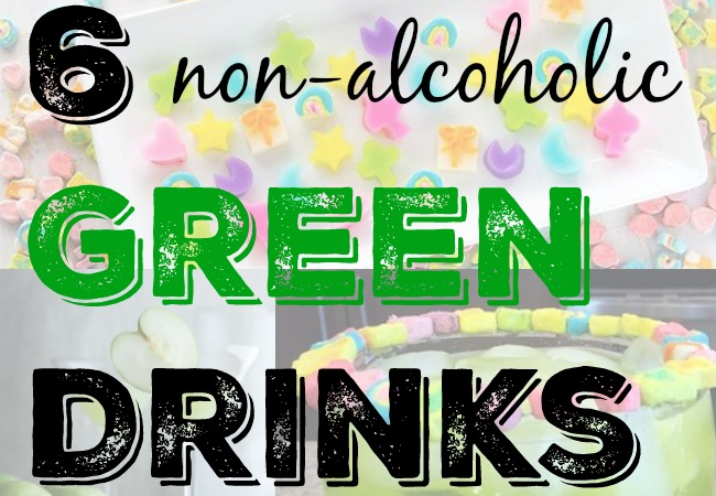 6 Non-Alcoholic Green Drinks via LiftingMakesMeHappy.com