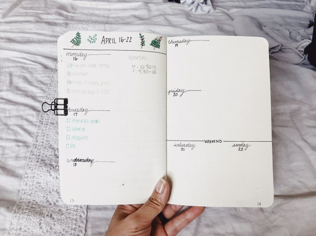 bullet journal fail