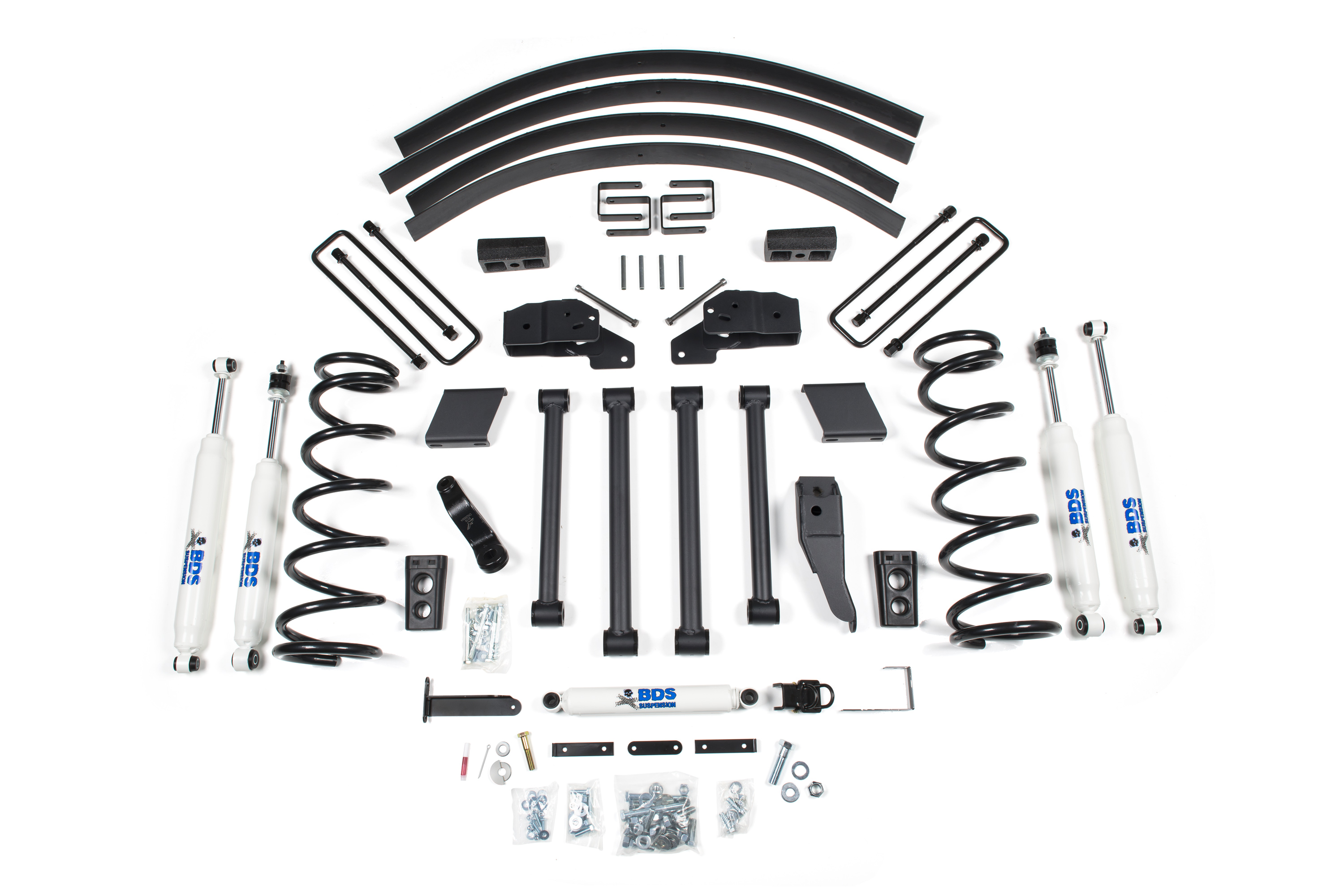 Bds Suspension 5 Lift Kit For The Dodge Ram