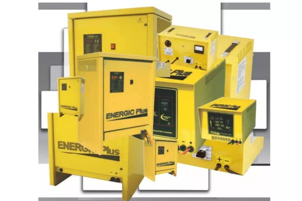 energic forklift battery chargers