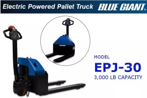 Blue Giant Pallet Truck</br>Model EPJ-30