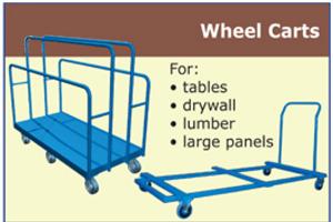 Canway wheel carts and caddies