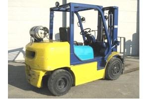 Used Forklifts - Komatsu - FG40ZT-7