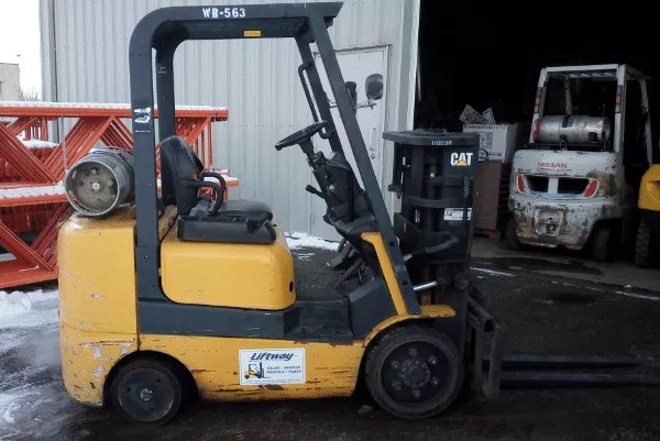 Used Caterpillar GC25K Forklift