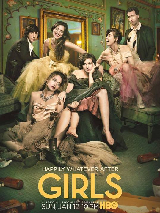 Girls, Season 3 Poster