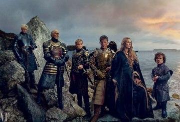 Os Lannisters: Gwendoline Christie, Charles Dance, Jack Gleeson, Nikolaj Coster-Waldau,Lena Headey, e Peter Dinklage